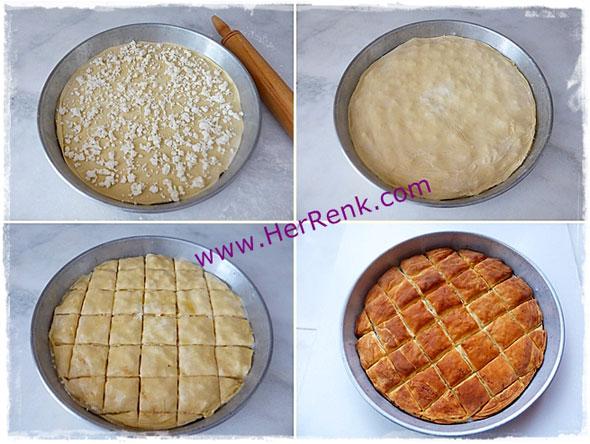 Pırasalı tepsi böreği nasıl yapılır börek tarifi pratik tepsi böreği