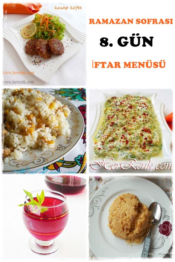 Iftar menüsü nasıl yapılır — Görsel Yemek Tarifleri Sitesi ...